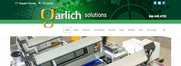 Garlich Unveils New Website and Branding